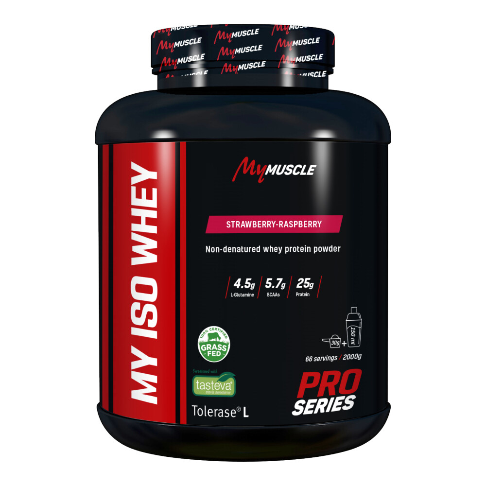 My Iso Whey MyMuscle 2000g Strawberry-Raspberry