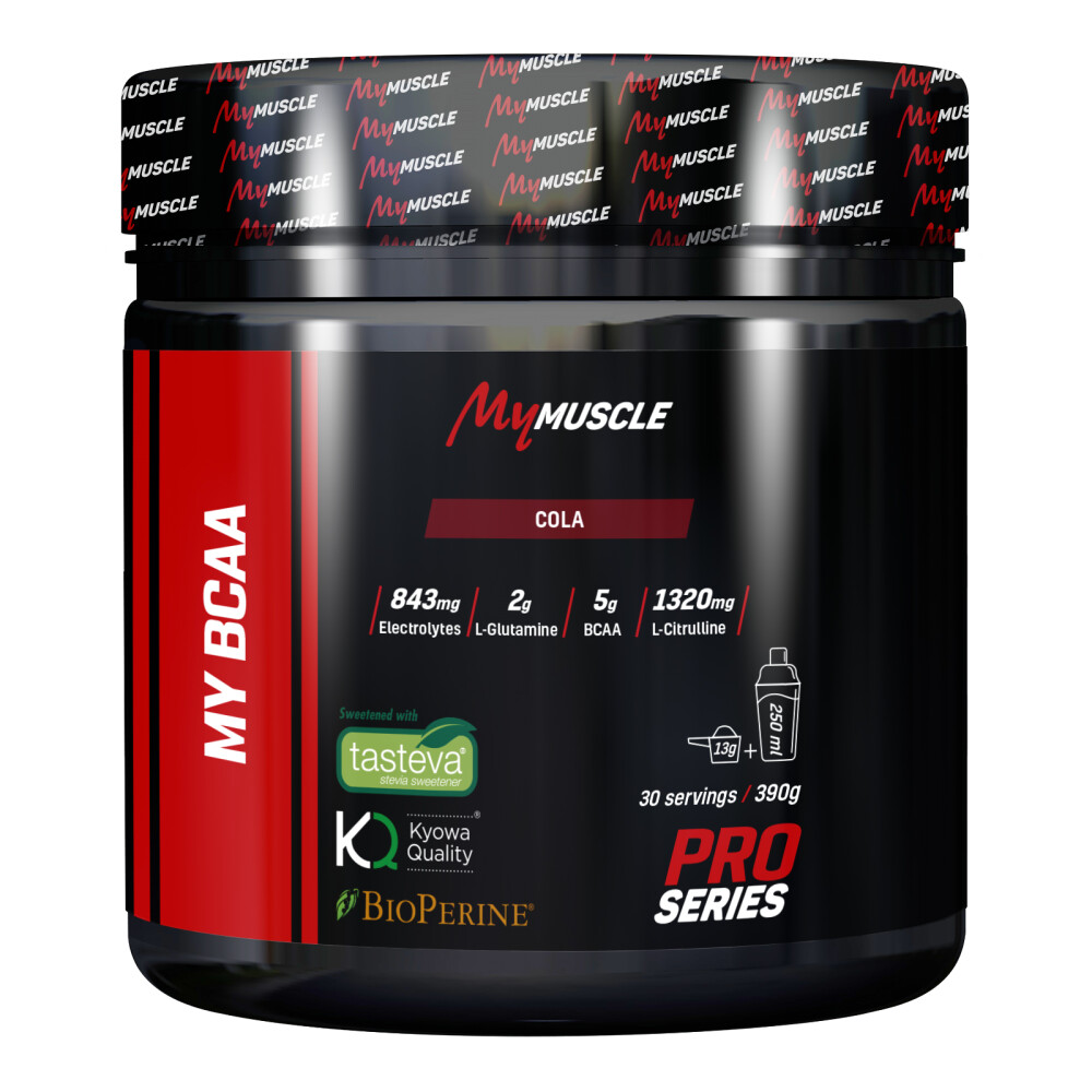 My BCAA MyMuscle 390 g Cola