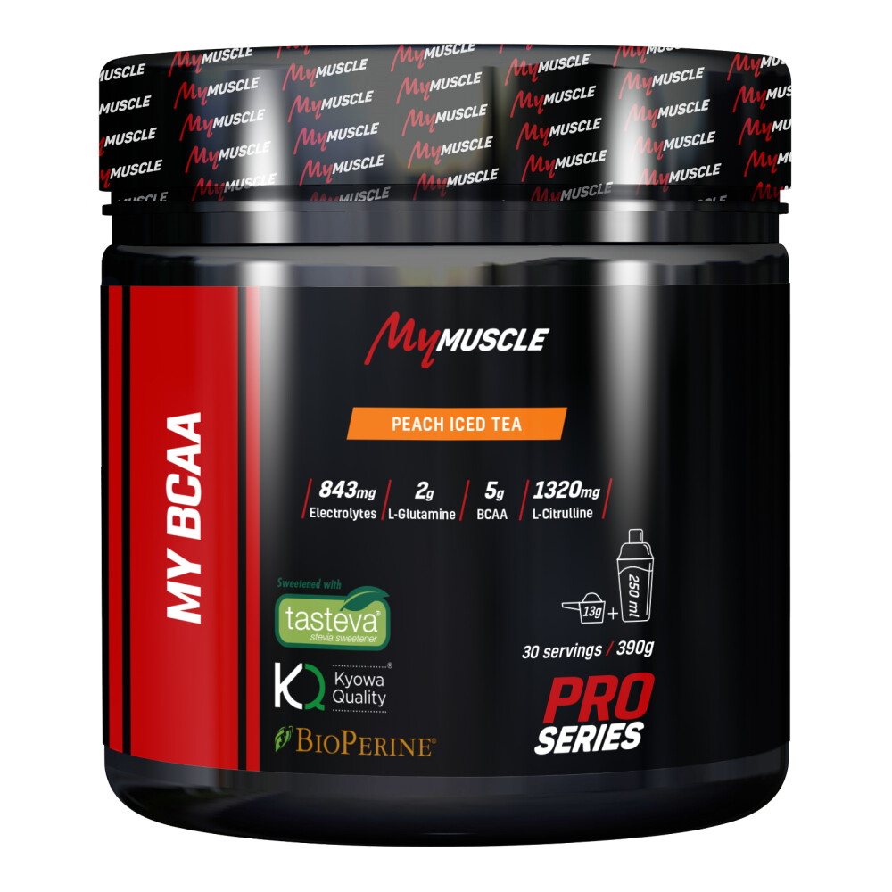 My BCAA MyMuscle 390g Peach Ice Tea