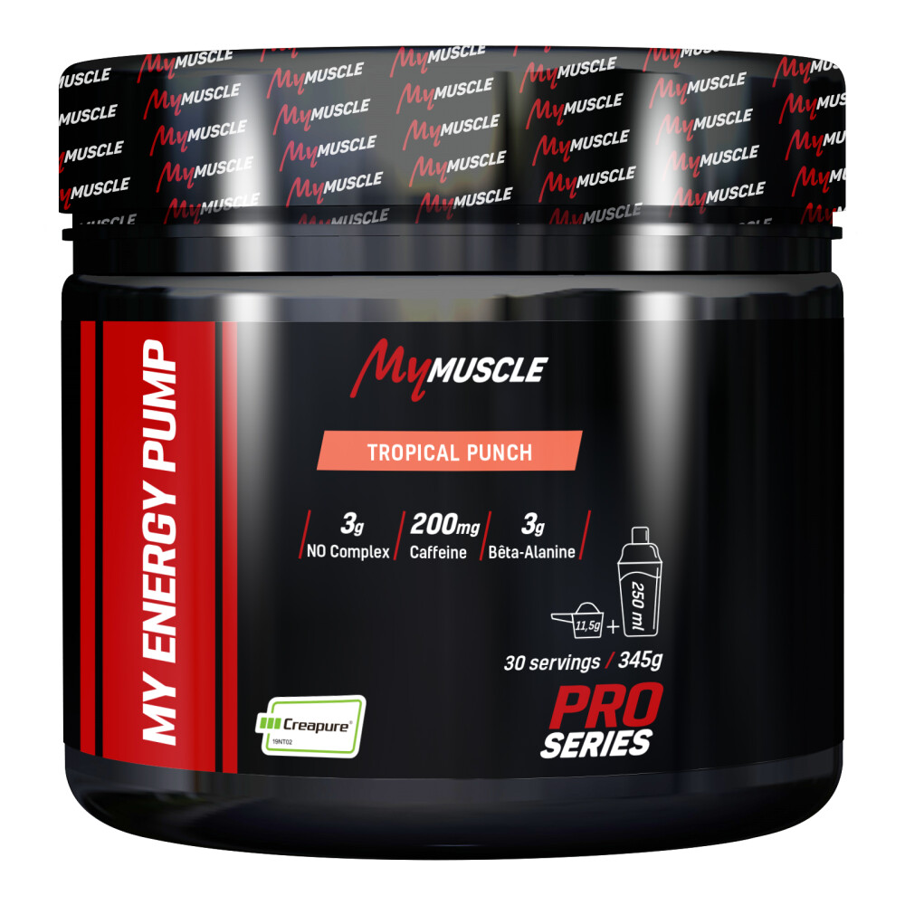 My Energy Pump MyMuscle 345g Tropical Punch