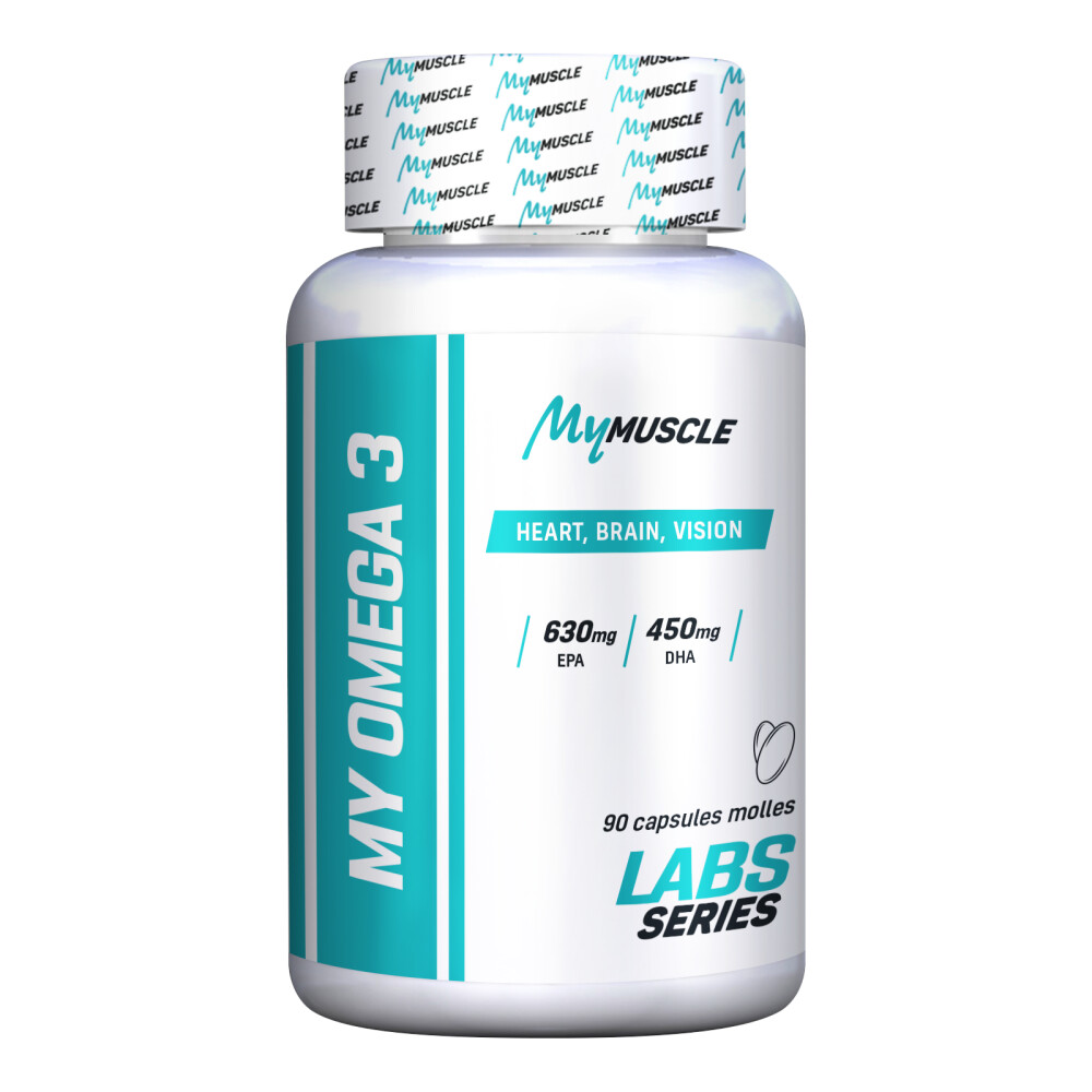 My Omega 3 MyMuscle Gélules molles Unflavored