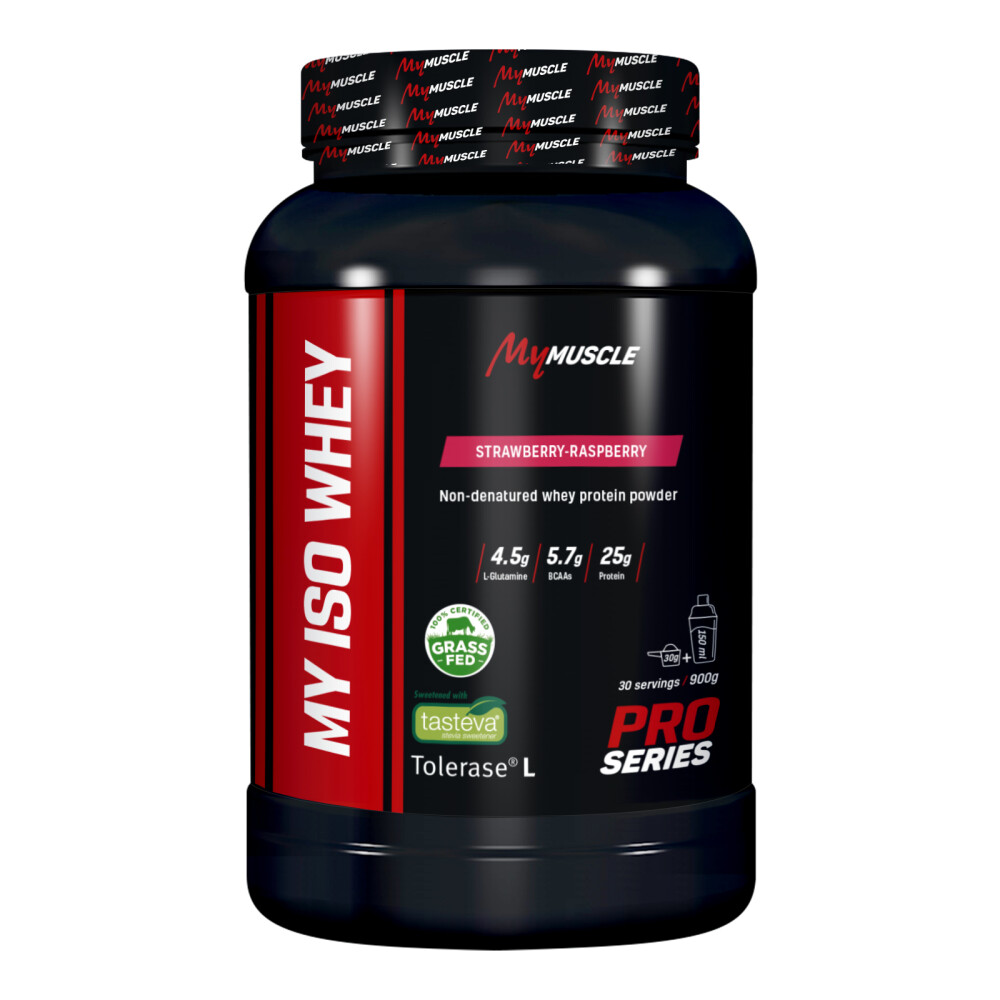 My Iso Whey MyMuscle 900g Strawberry-Raspberry