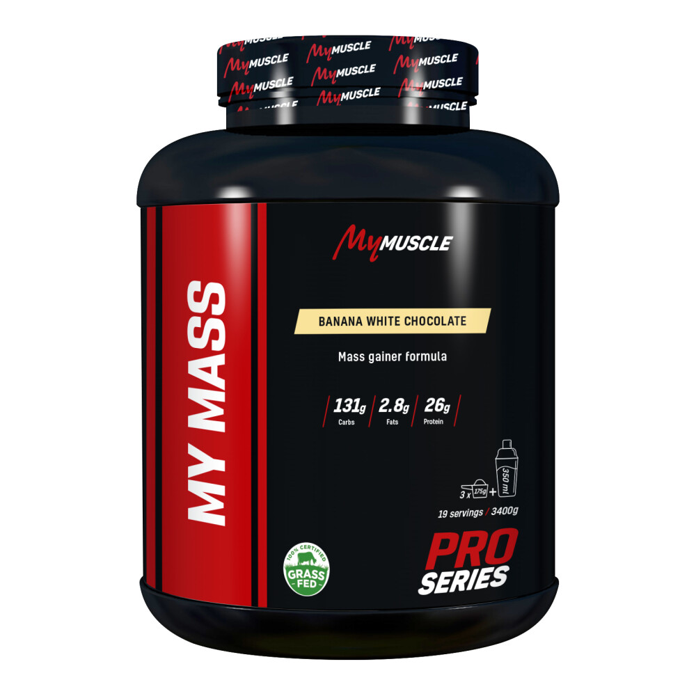 My Mass MyMuscle 3400 g Banana White Chocolate